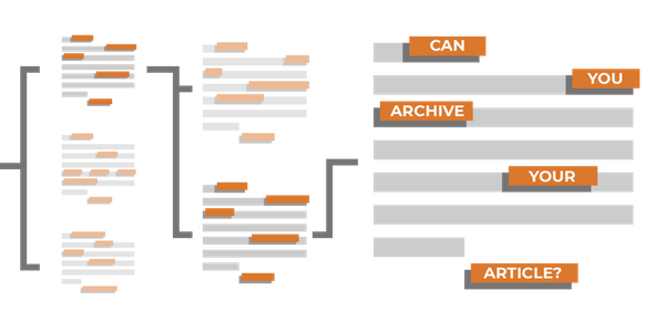 Encouraging authors to self-archive with tried and tested templates